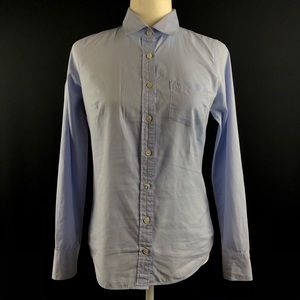 J. Crew Blue The Perfect Shirt Button Down